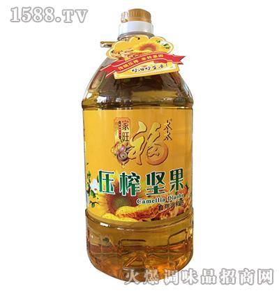 压榨坚果食用油5L-家旺福太太