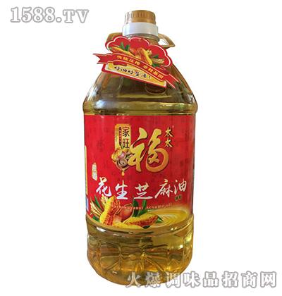 花生芝麻油5L-家旺福太太