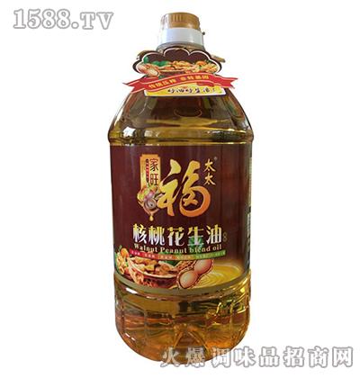 核桃花生油5L-家旺福太太