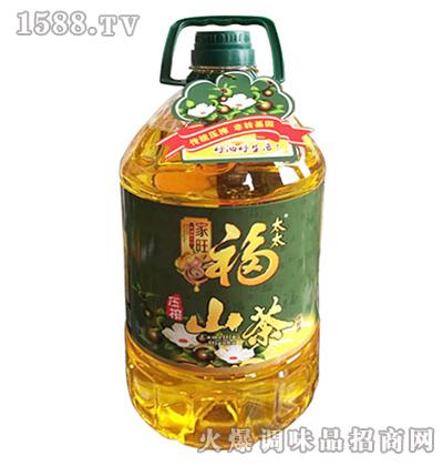 压榨山茶油5L-家旺福太太
