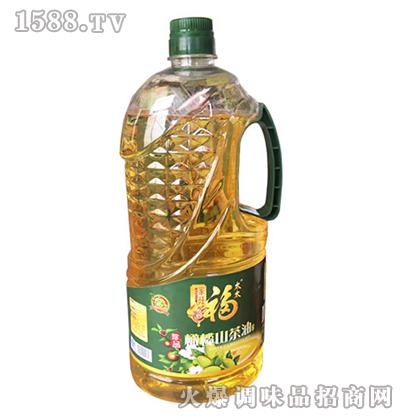 橄榄山茶油2.5L-家旺福太太