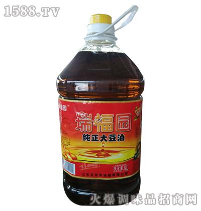 纯正大豆油5L-瑞福园