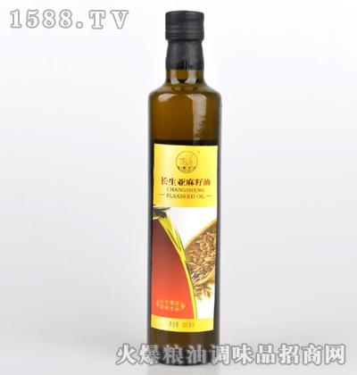 亚麻籽油500ml-长生