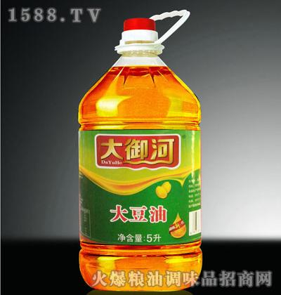 四级大豆油5L-大御河