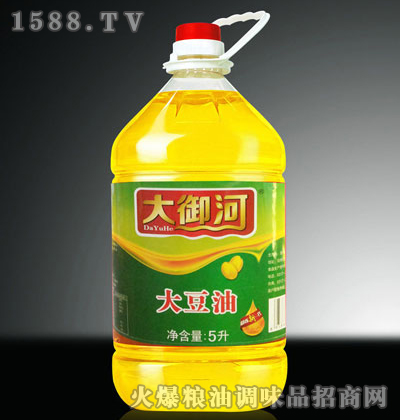 非转基因一级大豆油5L-大御河