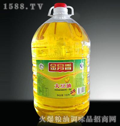 一级大豆油10L-金月香