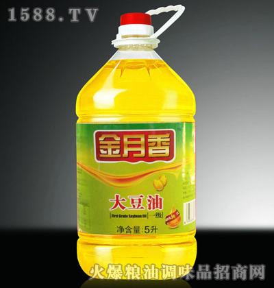 一级大豆油5L-金月香