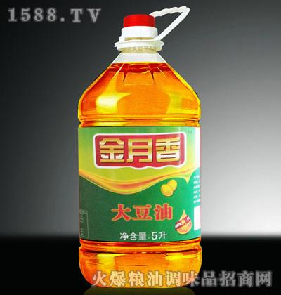 四级大豆油5L-金月香