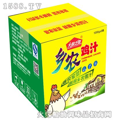 乡农鸡汁1000g*6瓶-大厨之家