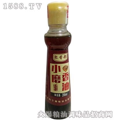 小磨香油200ml-聚香都
