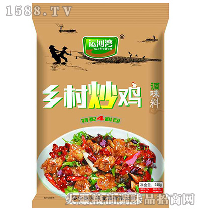 乡村炒鸡调味料240克-运河湾