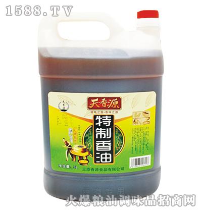 特制香油方桶5L-天香源