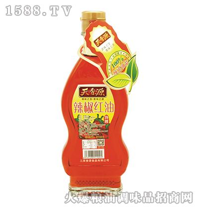 辣椒红油210ml-天香源