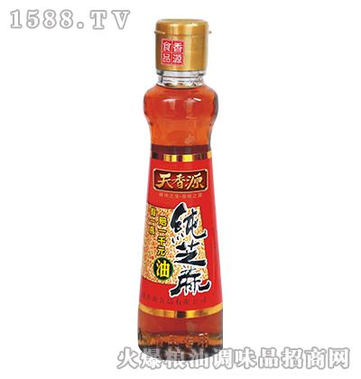 纯芝麻油320ml-天香源