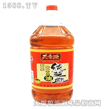 纯芝麻油5L-天香源