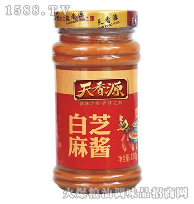 白芝麻酱330g-天香源
