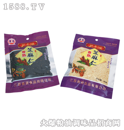 香熟芝麻仁80g-天香源