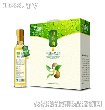 油茶籽油礼盒系列500ml(玻璃)X2-六道香