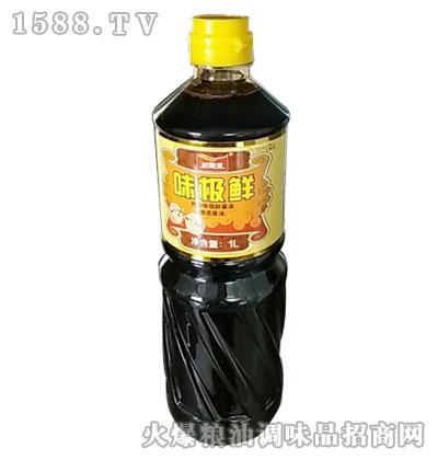 裕美源特级味极鲜酱油1L
