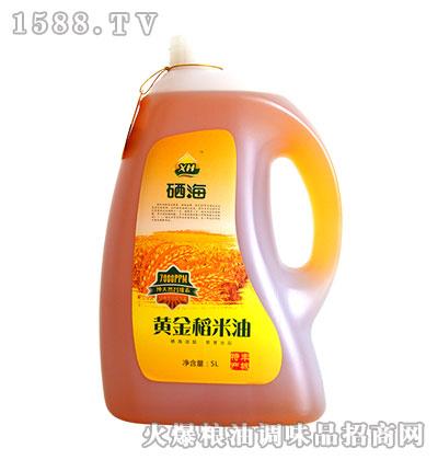 硒海黄金稻米油5L