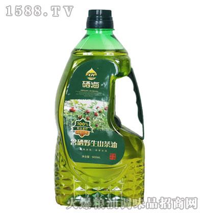 硒海含硒野生山茶油900ml