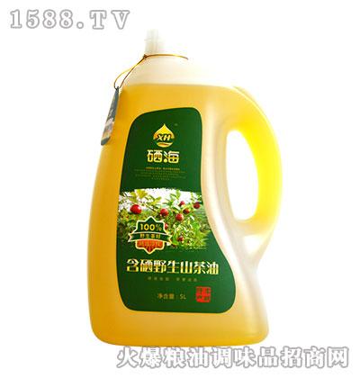 硒海含硒野生山茶油5L