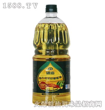 硒海野生山茶籽橄榄油1
