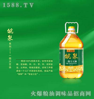 皖泉一级大豆油5L