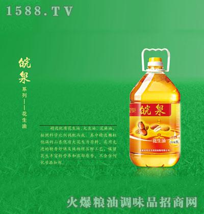 皖泉花生油5L