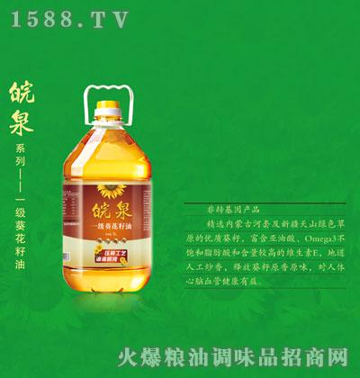 皖泉一级葵花籽油5L