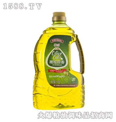 橄动橄榄原香食用调和油1.8L