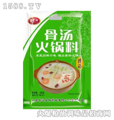 骨汤火锅料(清汤)180g-德亿鲜