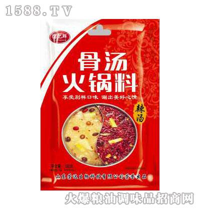 骨汤火锅料(辣汤)180g-德亿鲜