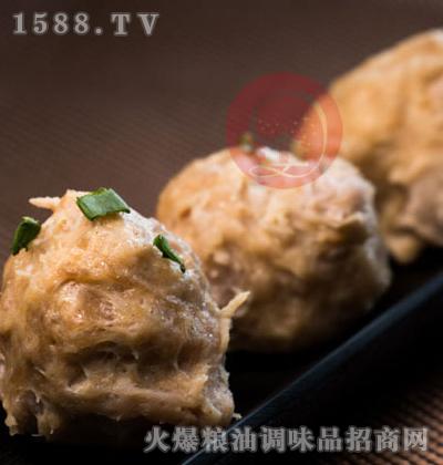 芋角鲜肉丸-宫道