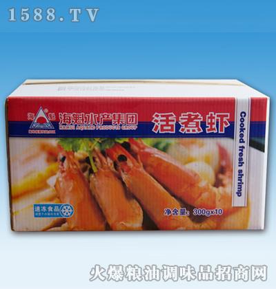 海魁盒冻熟虾300gx10