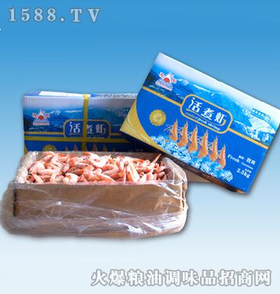 海魁单冻带头熟虾2500g