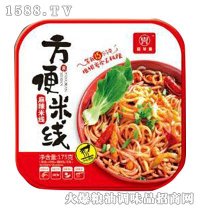麻辣方便米线方盒175g-旺华派