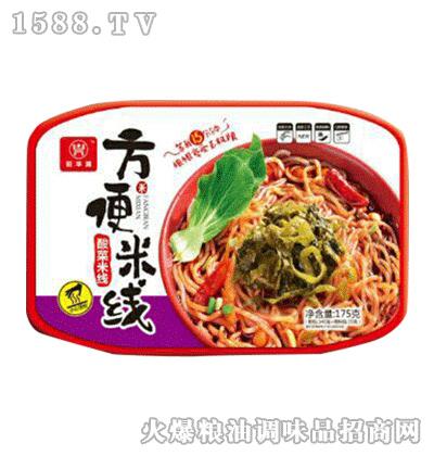 酸菜方便米线175g-旺华派