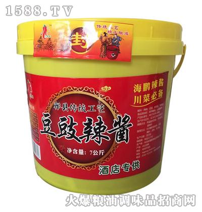 川老妹豆豉辣酱7公斤