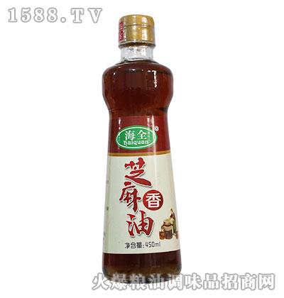 海全芝麻香油450ml