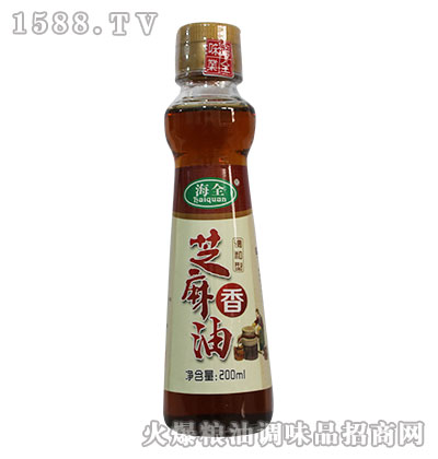海全芝麻香油200ml
