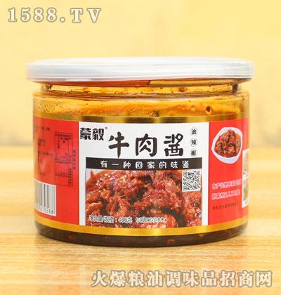 蒙毅牛肉酱油辣椒400g
