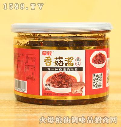 蒙毅麻辣夹馍香菇酱400g