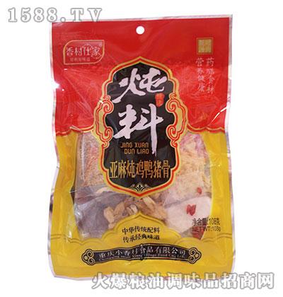 亚麻炖鸡鸭猪骨炖料108克-小香村