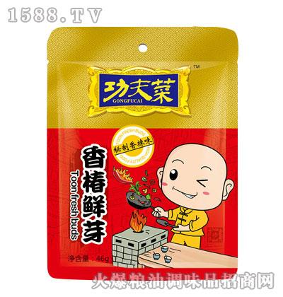 功夫菜香椿鲜芽秘制香辣味46g