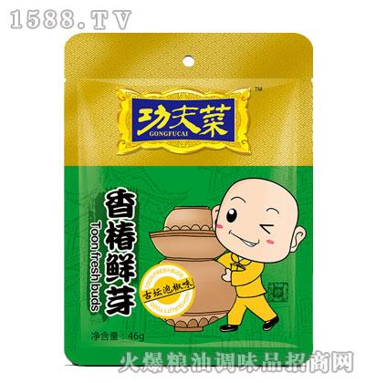功夫菜香椿鲜芽古坛泡椒味46g