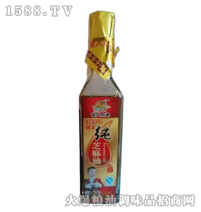 龙氏东海纯芝麻油300ml