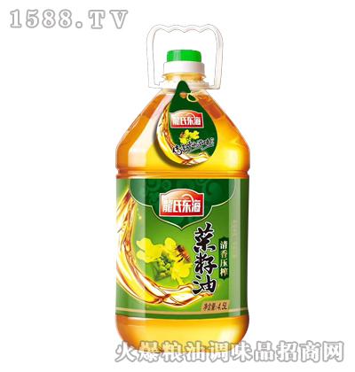 龙氏东海菜籽油(清香压榨)4.5L