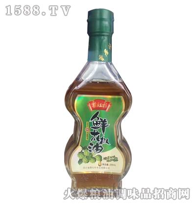 黎红杉鲜花椒油268ml
