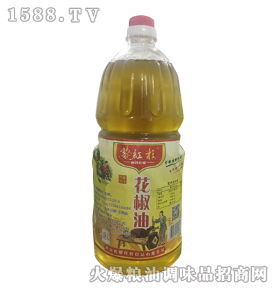 黎红杉花椒油(特麻原汁)1.8L